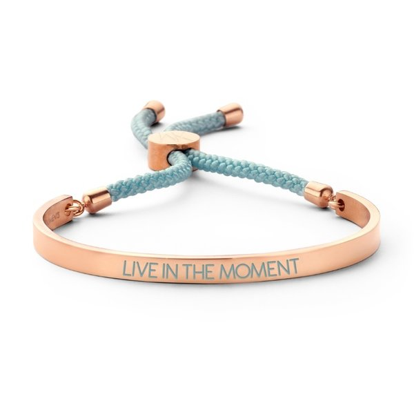 Key Moments Armband hellblau